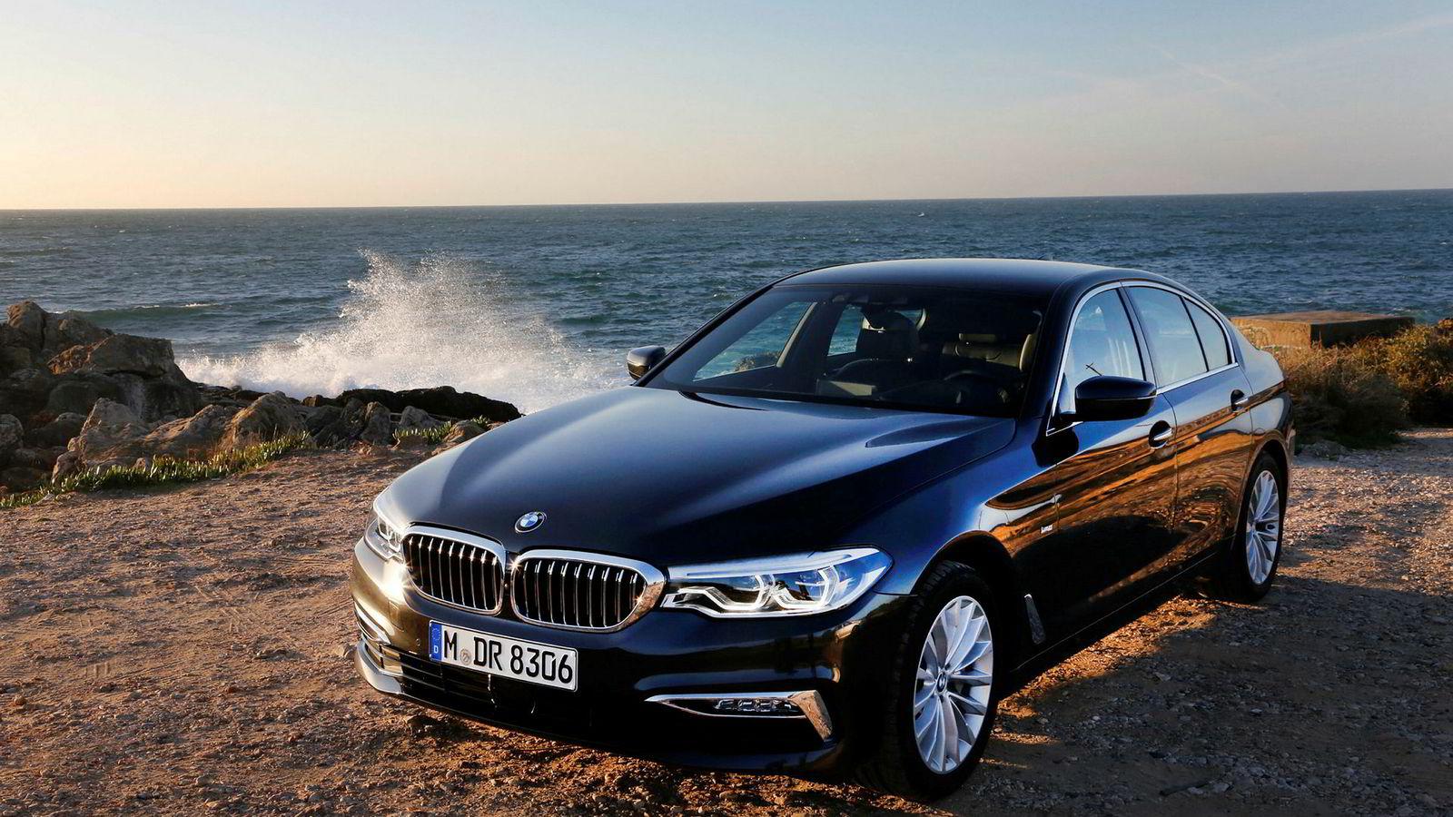 BMWs nye 5-serie er en glimrende bil. Bilen kommer til Norge i februar neste år.