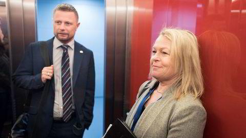 Her er anti-samhandlingsreformen: Ansvaret for helse og omsorg splittes mellom helseminister Bent Høie (Høyre) og eldreminister Åse Michaelsen.