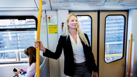 Kari Due-Andresen er sjeføkonom i Handelsbanken Capital Markets. Hun mener regjeringen er optimistisk når de spår fremtiden for norsk økonomi.