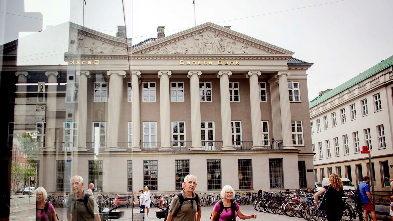 Kursen til Danske Bank vendte ned i sommer og etablerte en fallende trend.