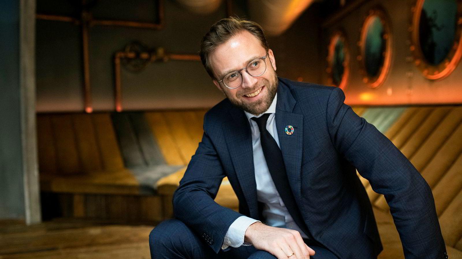 Utviklingsminister Nikolai Astrup blir ny digitaliseringsminister.