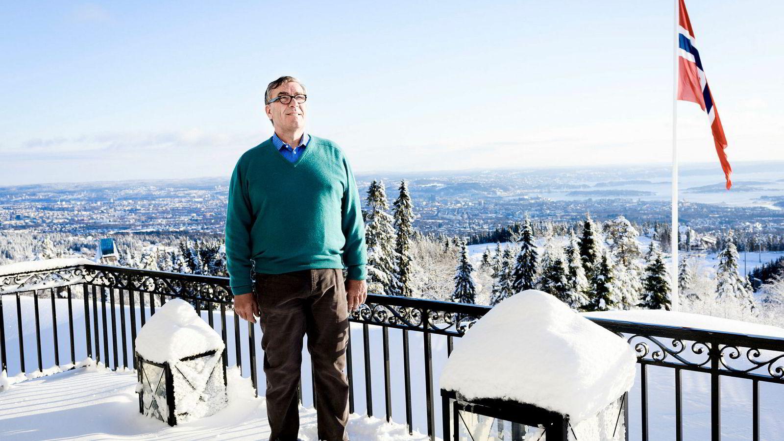 Stein Erik Hagen vil gi bort trekunstinstallasjonen til Oslo kommune.