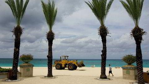 Over 40 prosent av dagligvareprodukter kan ha en tilknytning til skatteparadiser, ifølge nye tall. Bildet er tatt på Cayman Islands.