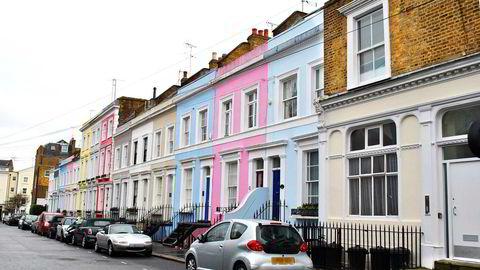 Innen 2020 må en førstegangskjøper i sentrale deler av London ha en årsinntekt på minst 106.000 pund, drøye 1,2 millioner kroner, for å ha råd til en gjennomsnittlig bolig. Foto: Istock