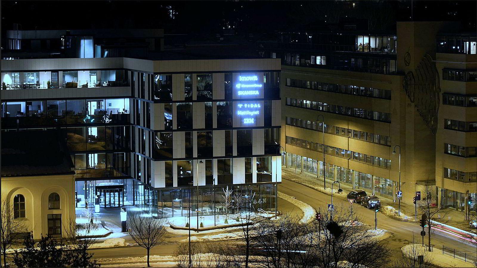 Strømmetjenesten Tidal har hovedkvarter ved Akerselva i Oslo.