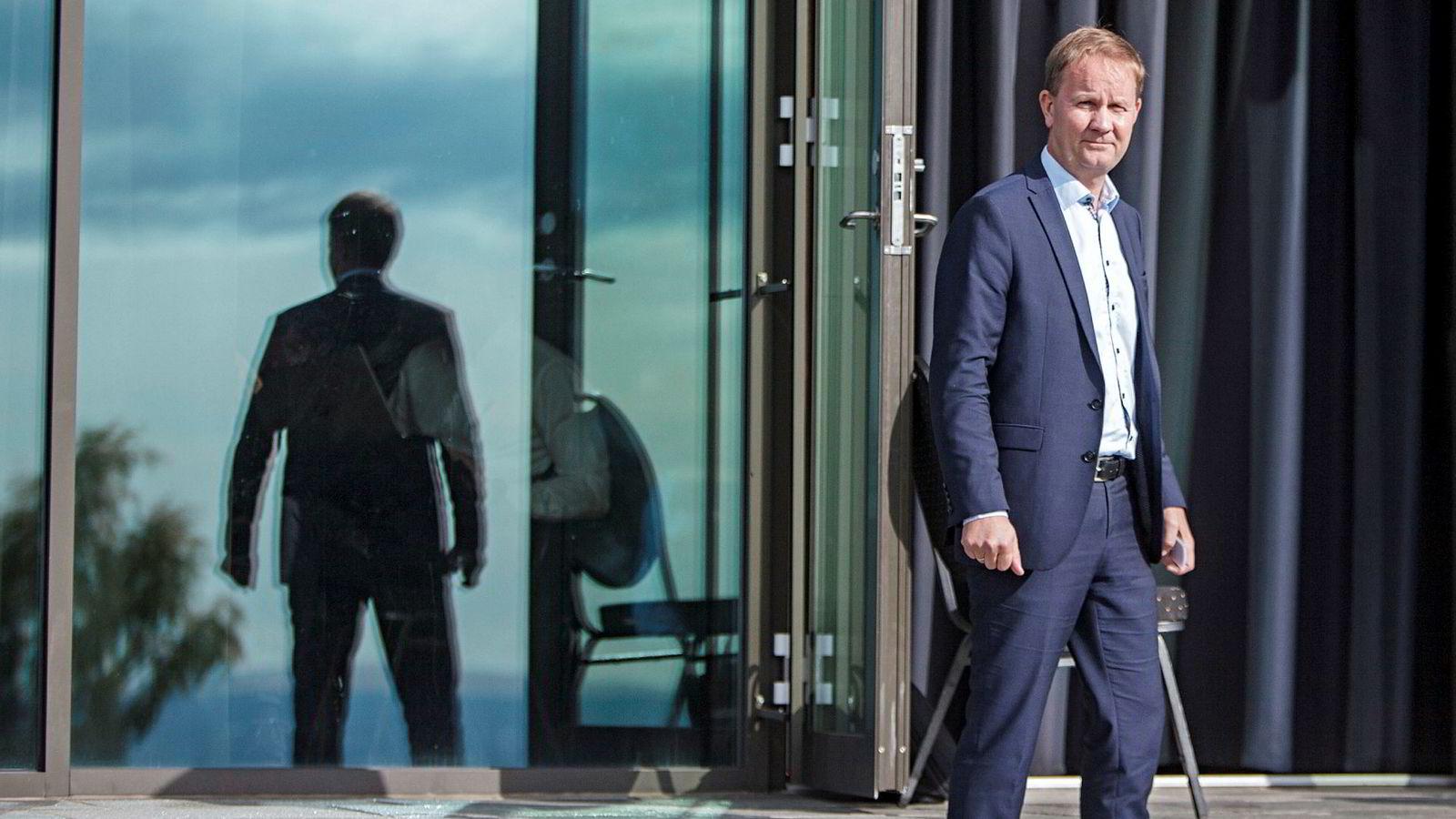 Administrerende direktør Lars Peder Solstad i Solstad Offshore må nå ta grep etter en sommersesong med for lav inntjening.