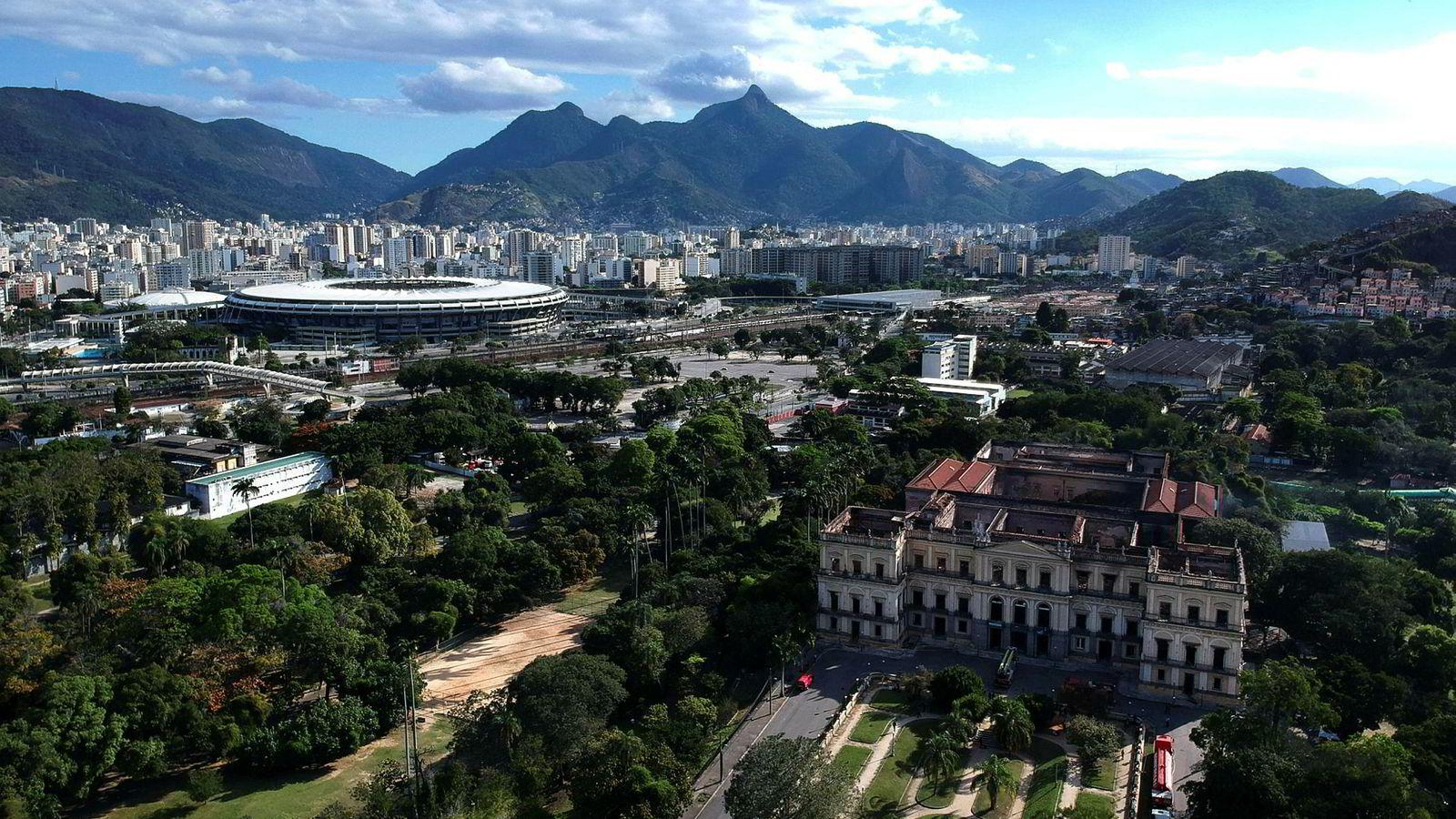 Neste år kan man trolig fly med Norwegian fra London til  Rio de Janeiro.