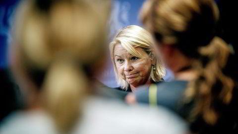Næringsminister Monica Mæland. Foto: Gorm K. Gaare