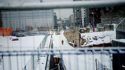 Italienske Condotte hadde kontrakt på en del av Follobanen, et 22 kilometer nytt dobbeltspor mellom Oslo og Ski, men i januar i fjor sa Bane Nor opp kontrakten.