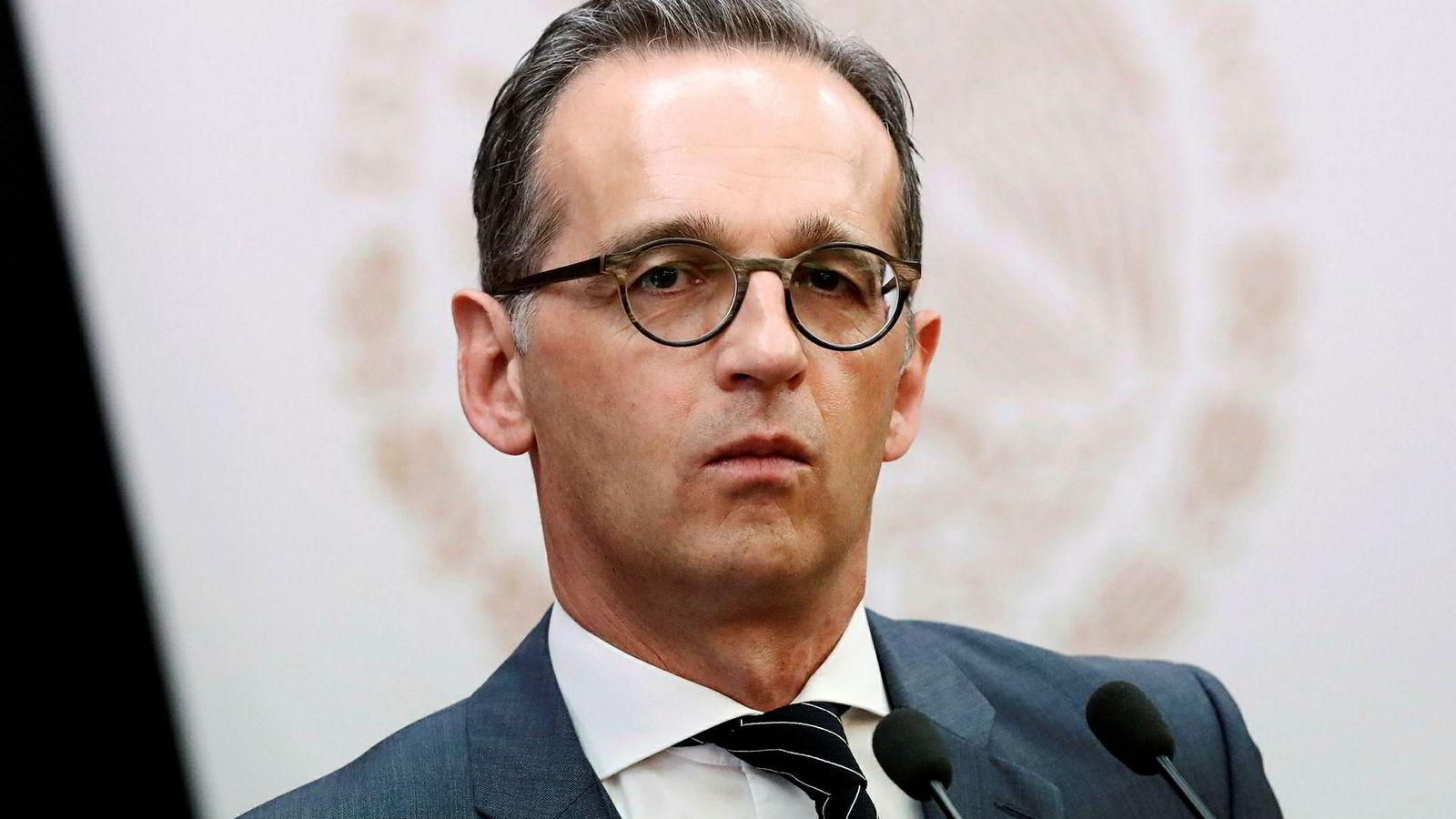 Tysklands utenriksminister Heiko Maas ber Iran holde seg til atomavtalen.