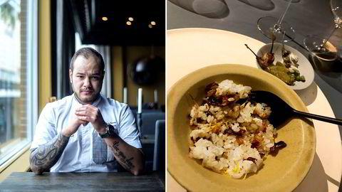 Fyrverkeri. Christian Andre Pettersens største matminne fra 2018 er en «mind-blowing» middag på Inua, en Tokyo-restaurant startet av kokker med bakgrunn fra Noma i København.