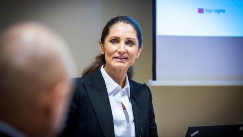 – Banken har hele veien vært opptatt av hvordan man kan ta suksessen fra Norden videre ut til Europa, sier administrerende direktør Tine Wollebekk i Bank Norwegian.