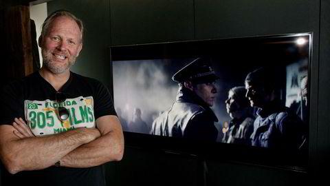 Motion Blur omsetter både priser og 59,2 millioner på reklamefilmene sine. Nå varsler daglig leder Espen Horn at selskapet skal prioritere spillefilm. Foto: Øyvind Elvsborg