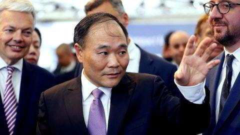 Den kinesiske milliardæren Li Shufu har kjøpt seg opp i Daimler gjennom sitt selskap Geely. Foto: Nicolas Maeterlinck/AFP Photo