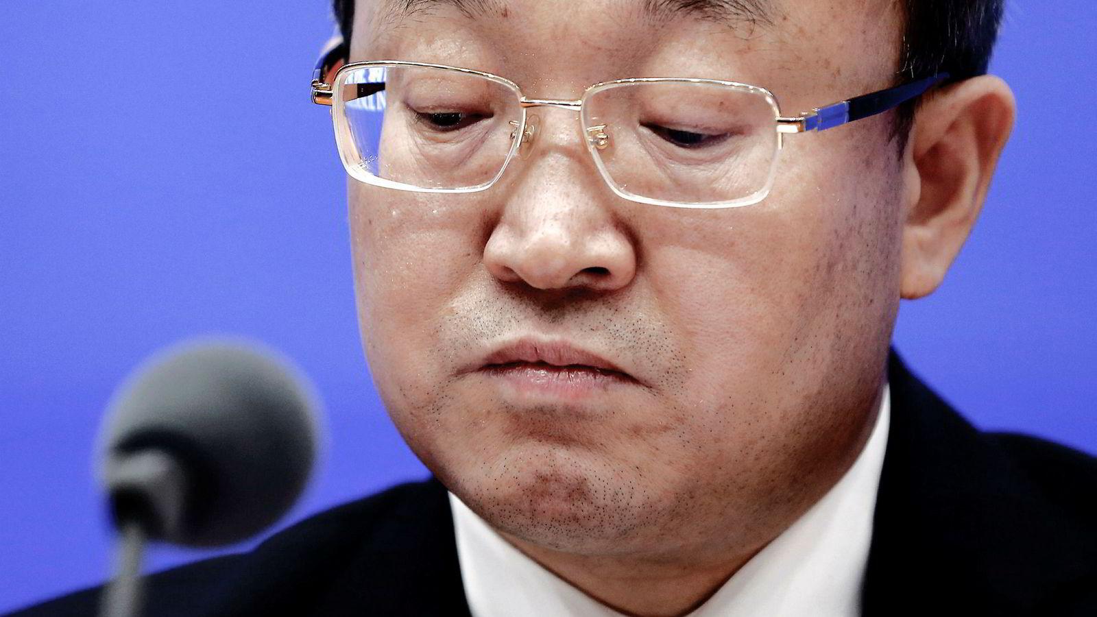 Kinas visehandelsminister Wang Shouwen deltok på en sjelden pressekonferanse, hvor Kina la frem en rapport som viser landets syn på handelskrigen med USA. Kina vil ikke gi etter for amerikanske krav.