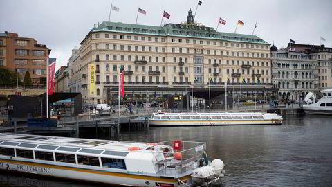 Grand Hotell i Stockholm i Sverige.