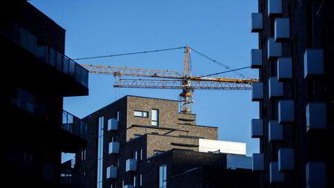 Nye leiligheter i Kværnerbyen i Oslo. Foto: Javad Parsa