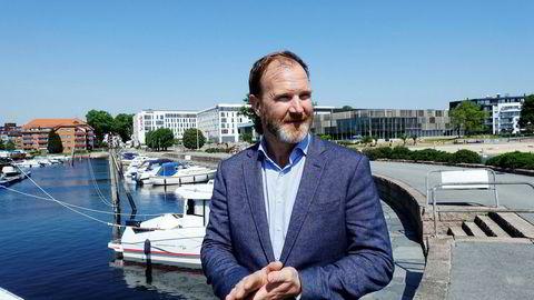 For første gang ble det i fjor investert mer i fornybar energi i verden enn i olje og gass, sier direktør i Agder Energi, Harald von Heyden.
