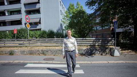 – Om det kommer ut flere boliger enn vanlig i en periode, kan det påvirke markedet litt der og da, men over tid tror jeg etterspørselen i Oslo vil være så stor at det ikke vil ha noe å si, sier administrerende direktør Martin Asp i JM Norge. Foto: Javad Parsa
