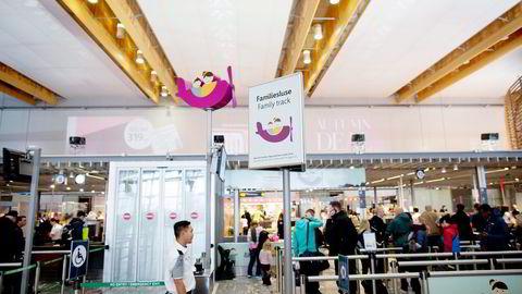 Nokas ønsker å bli den dominerende leverandøren av flyplassikkerhet i Norge, Sverige og Danmark. Selskapet har i flere år sjekket flypassasjerer på Gardermoen (bildet). Foto: