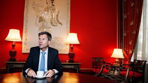 Leder Ottar Ertzeid i DNB Markets tror markedet for å hente ny egenkapital og børsintroduksjoner blir stille i første halvår. Han venter på at oljeprisen passerer 50 dollar fatet. Foto: Elin Høyland