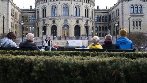 Dette er utgangspunktet for at et bredt flertall på Stortinget har gått inn for at det skal innføres en finansskatt, sier forfatteren. Foto: Per Ståle Bugjerde