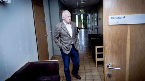 Det er usikkert hva kreditorene til Mårten Rød får i dekning. 66-åringen kreves for 312 millioner kroner. Foto: Gorm K. Gaare