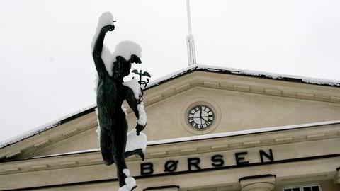 Børsen fikk et nytt markert oljeprisfall mandag. Foto: Gunnar Lier