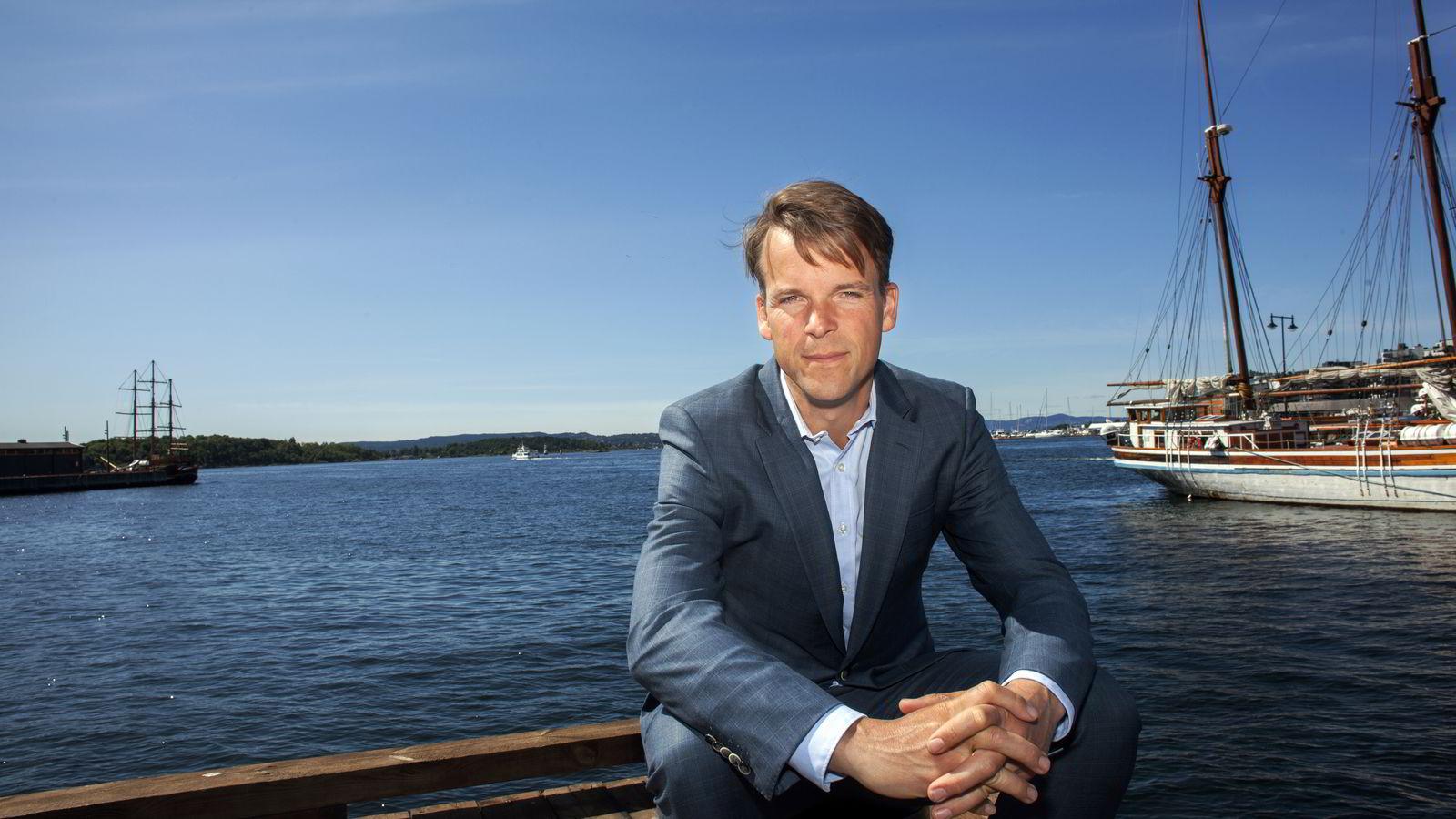 Partner Bjarne Lie i Verdane Capital har milliarder under forvaltning. Foto: