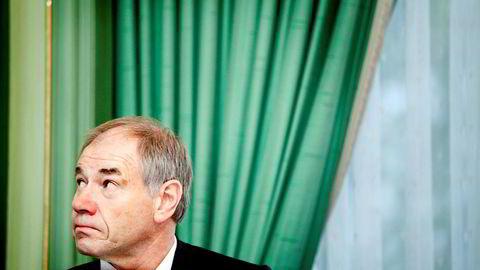 HODEBRY: Jørgen Larsen var konsernsjef da Eltek solgte Nera Networks til Ceragon i 2011. Foto: Ida von Hanno Bast