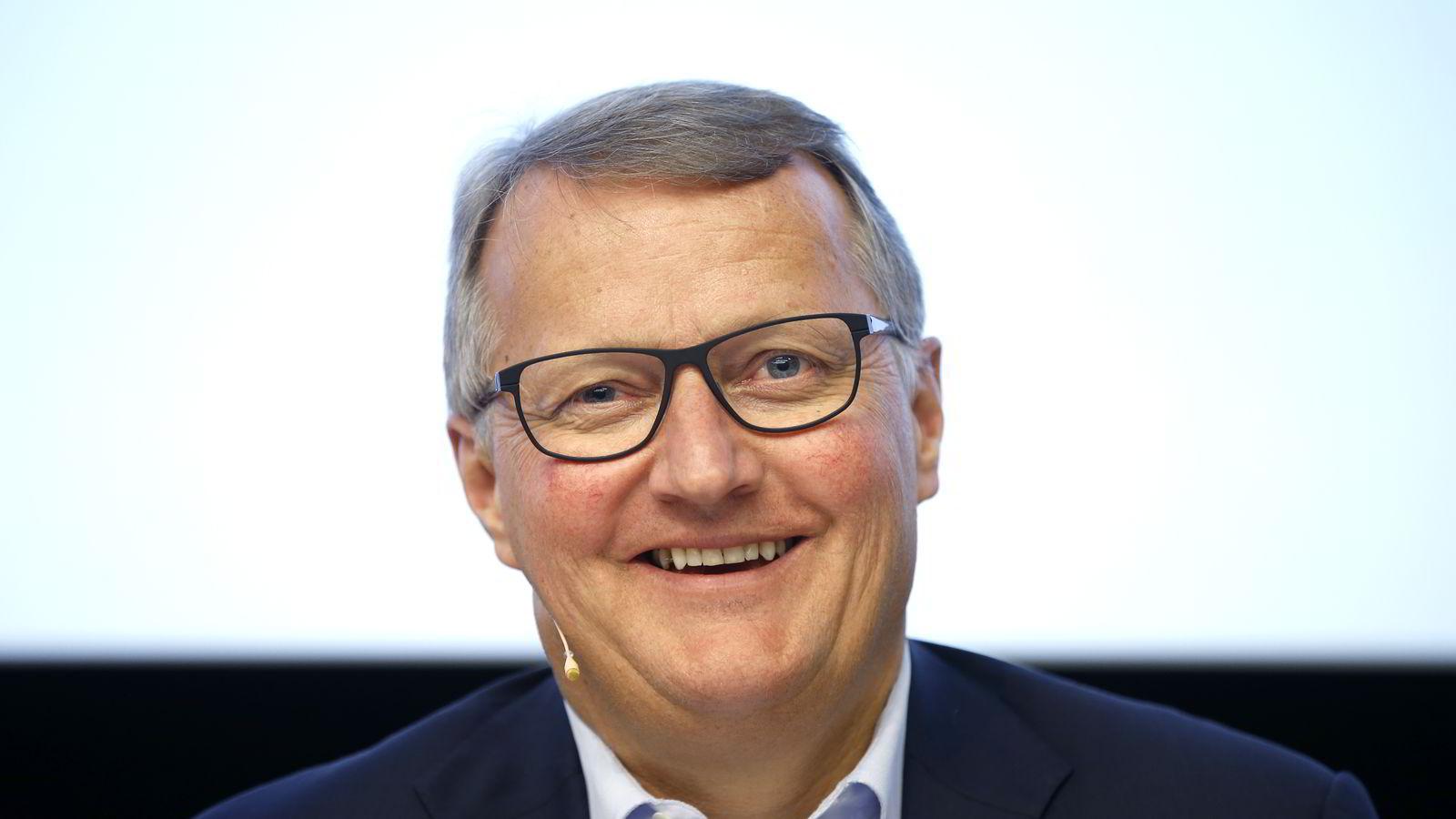 Rune Bjerke er toppsjef i DNB.