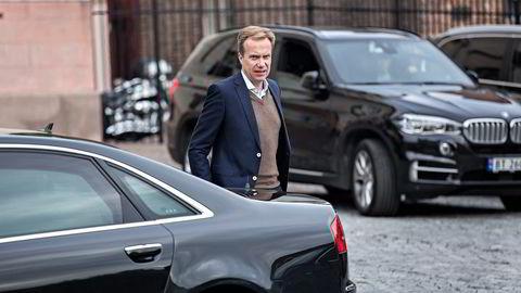 Utenriksminister Børge Brende har tatt initiativ til det første handelstoppmøtet i Norge noensinne. Foto: Aleksander Nordahl