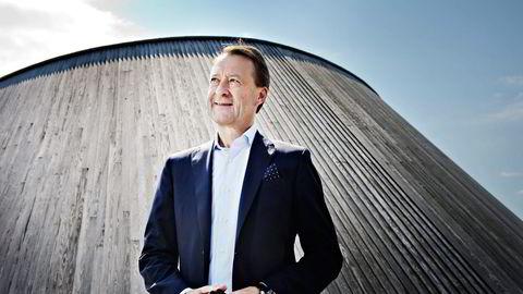 """Bjørn Rune Gjelsten er på vei mot børs med """"steikje fine gardine"""". Foto: Robert McPherson"""