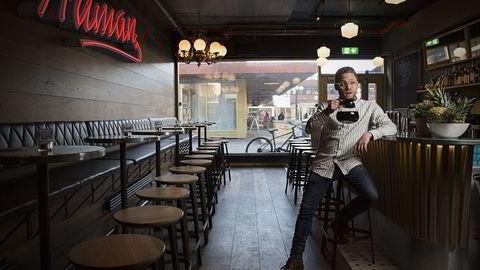 Human Mote: Når Anders Bakke i morgen åpner baren Human Mote blir det klassiske drinker uten sjøgress og rogn
