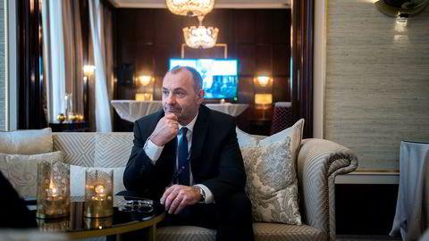 Jan Arve Haugan er administrerende direktør i Aker Energy, Kjell Inge Røkkes nye oljeselskap i Ghana.