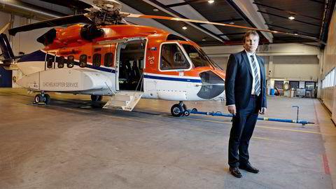 CHC Helikopter Service-sjef Arne Roland åpner for å flytte utenlands hvis markedet åpnes for aktører i utlandet. Da kan Luftfartstilsynet ende helt uten kontroll av aktørene. Foto: