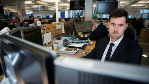 Analytiker Joachim Bernhardsen i Nordea Markets. Han avviser at det blir et større boligprisfall.