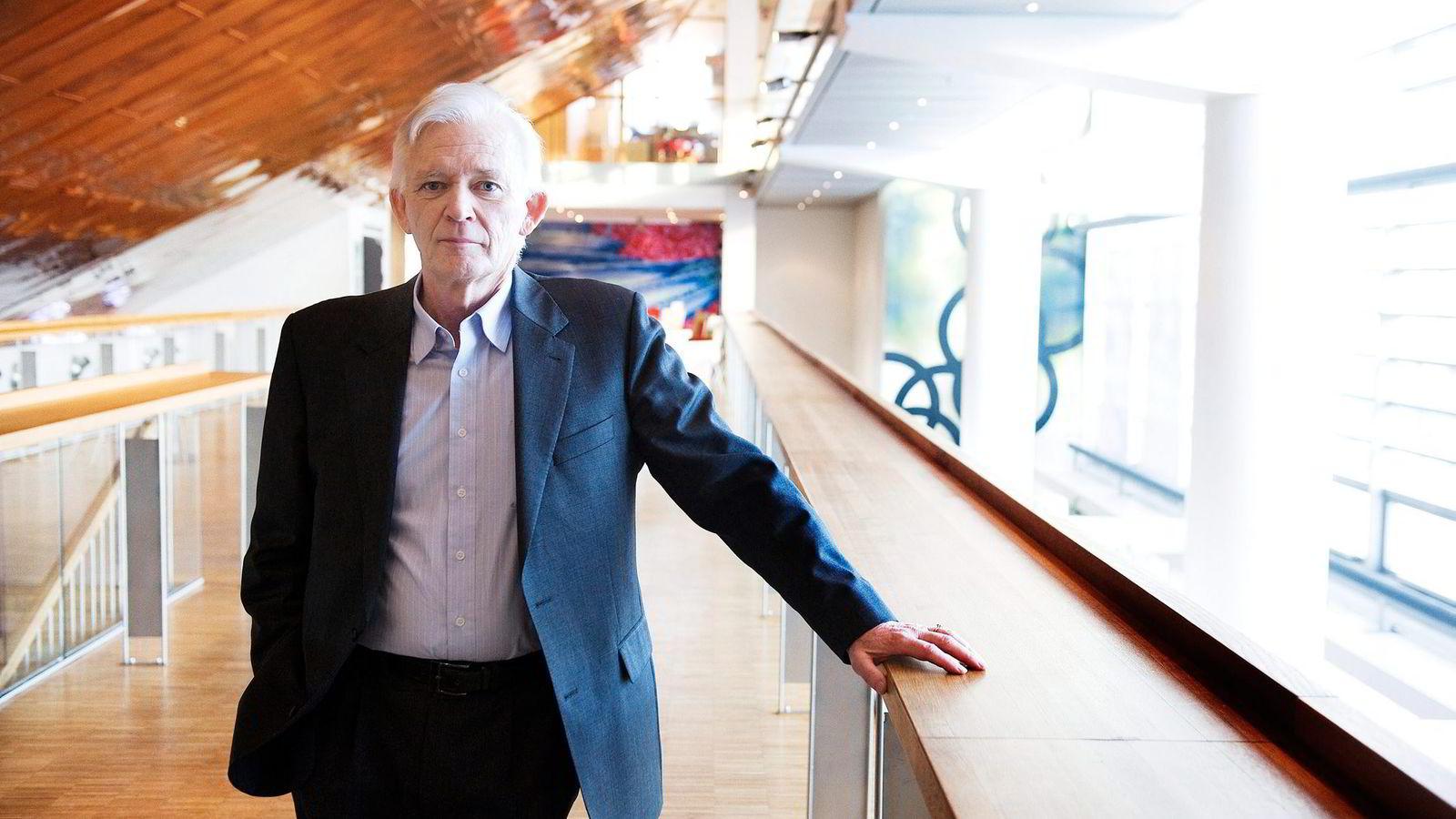 Sevane Marine-gründer Arne Smedal sier han «på ingen måte» føler han har gjort noe galt, men erkjenner at han er siktet i det som kan være norgeshistoriens største korrupsjonssak. Foto: Jon Danielsen