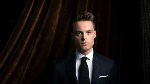 Gustav M. Witzøe er av Forbes kåret til verdens tredje yngste dollarmilliardær. Foto: Skjalg Bøhmer Vold