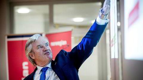 Norwegian-aksjen går rett til himmels etter at British Airways-eieren IAG bekrefter at det vurderer å by på selskapet.