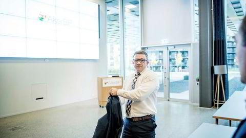 Det Kjell Inge Røkke- og Aker-dominerte oljeselskapet Aker BP er blant favorittene til ekspertene i DNs porteføljekonkurranse. Her Aker BP-sjef Karl Johnny Hersvik.