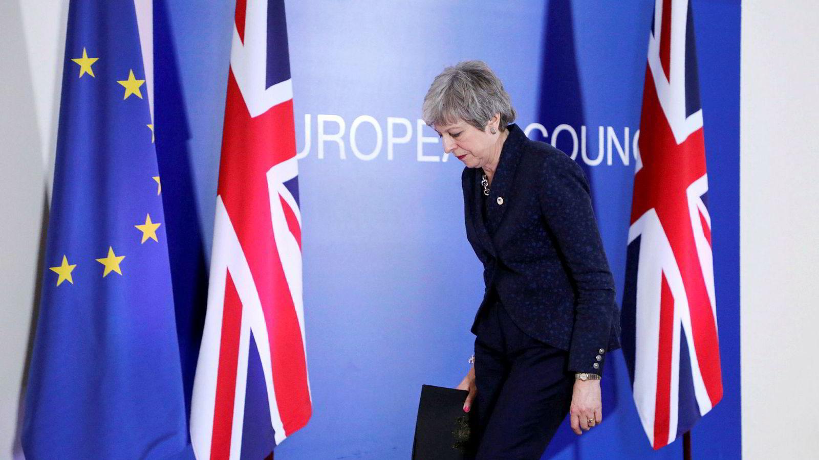 Britenes statsminister Theresa May