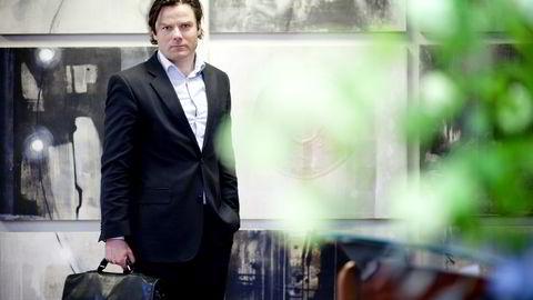 Finansdirektør Kristian Johansen i TGS-Nopec. Foto: Ida von Hanno Bast