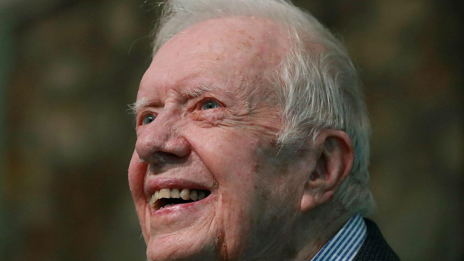4d074325 Jimmy Carter mener Trump egentlig tapte valget