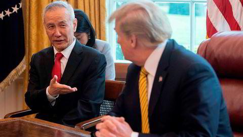 Etter et møte med Kinas visestatsminister Liu He utsatte Donald Trump videre skattelegging av kinesiske varer, og nye forhandlinger starter i oktober. Amerikanske bedriftsledere tror likevel ikke handelskrigen er over med det første.