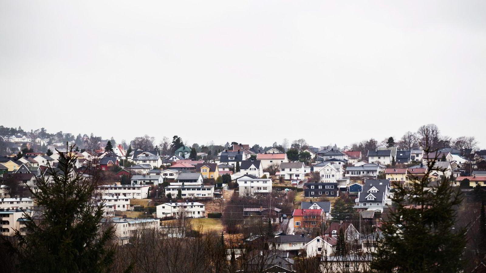 Skøyenåsen i Oslo. Illustrasjonsfoto: Fartein Rudjord