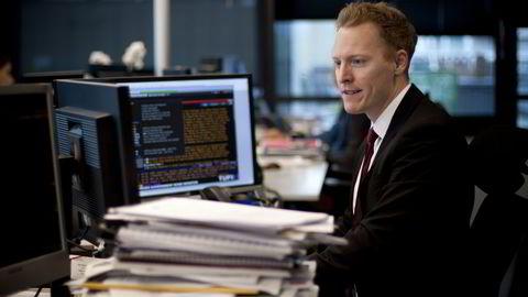 Skagen Global-forvalter Knut Gezelius benytter børsfallet etter brexit-avstemningen til å hamstre aksjer. Foto: Pressebilde