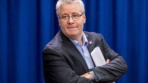 Bård Hoksrud i Frp sier reduksjon av eiendomsskatten er viktig for partiet under budsjettforhandlingene.