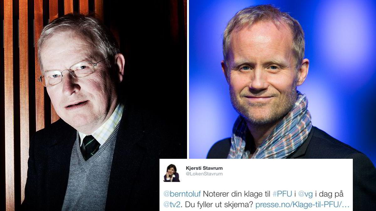Bernt Olufsen og Øyvind Alsaker.