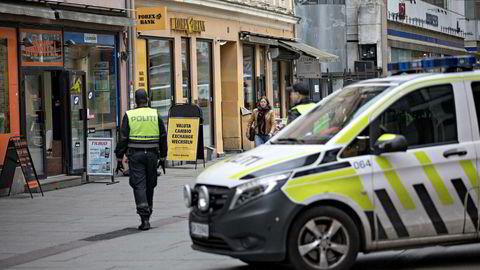 Personellutgifter i politiet økte kraftig i 2017.